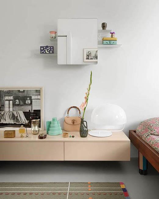 szafka łazienkowa kali w sypialni projektantów doshi levien