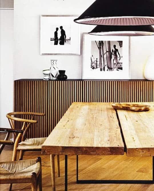 krzesła projektu hansa wegnera