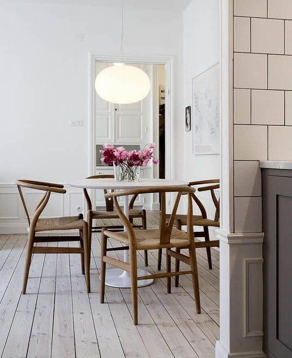krzesła wishbone