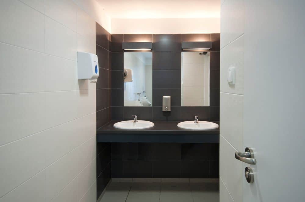 łazienka biurowa