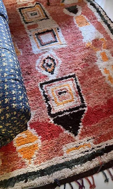 boucherouite- wełniane dywany z Maroka