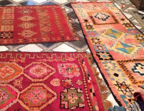 Boucherouite, dywany z Maroka