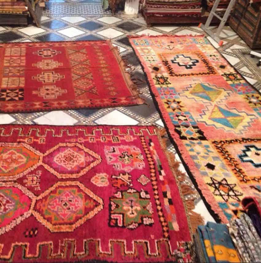 dywan boucherouite z Maroka
